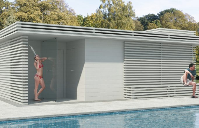 WOOD DESIGN SWIMMINGPOOL STORAGE