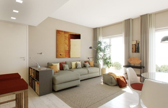 RESIDENTIAL APARTMENTS IN ROME