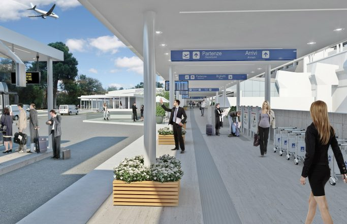 CIAMPINO AIRPORT'S CANOPY